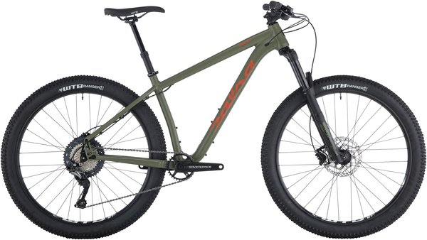 Salsa Timberjack SLX 27.5+ Color: Dark Green