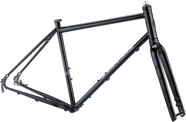 Salsa Vaya Frameset Color: Black