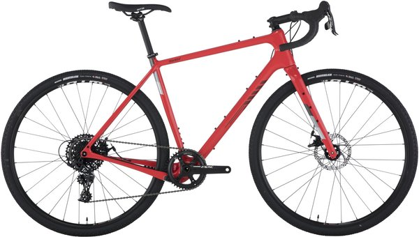 Salsa Warbird Carbon Apex 1 700 Color: Red