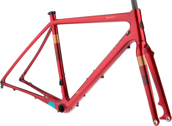 Salsa Warbird Carbon Frameset Color: Red