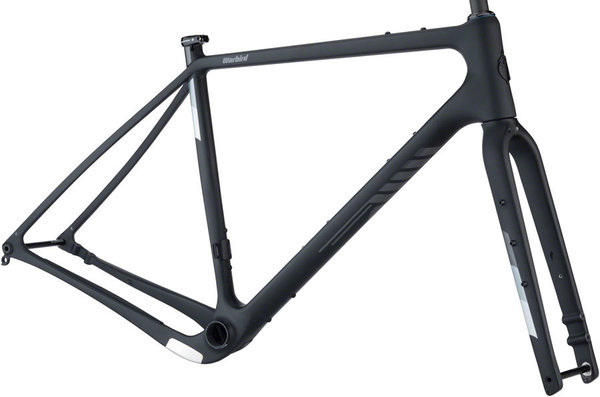 Salsa Warbird Carbon Frameset Color: Black