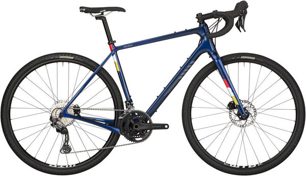 Salsa Warbird Carbon GRX 600 Color: Dark Blue