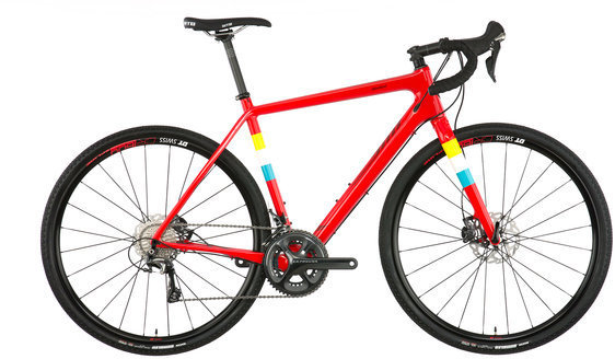 Salsa Warbird Carbon Ultegra Color: Hot Red