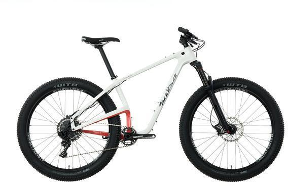 Salsa Woodsmoke 27.5+ GX1 Color: White/Red