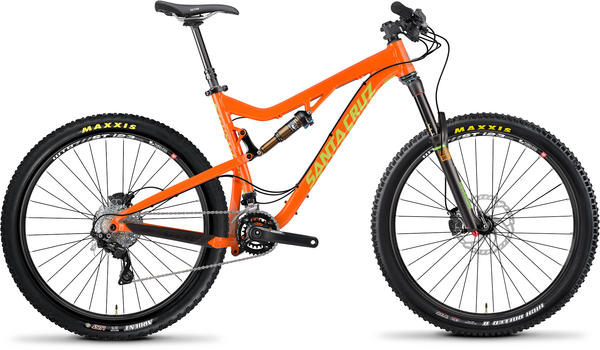 Santa Cruz 5010 Color: Orange/Lime Green