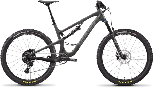 Santa Cruz 5010 Aluminum R Color: Grey