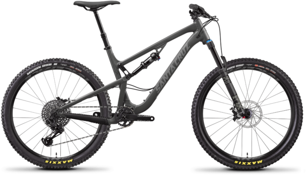 Santa Cruz 5010 Aluminum S Color: Grey