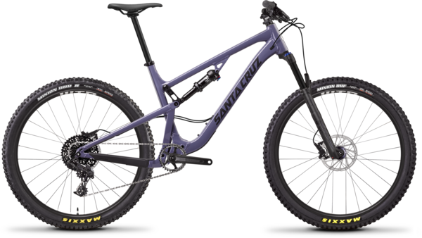 Santa Cruz 5010 Aluminum D Color: Purple