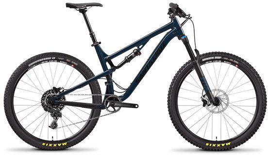 Santa Cruz 5010 R Aluminum Color: Gloss Ink and Black