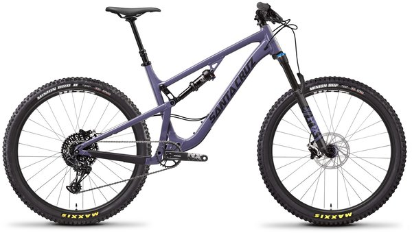 Santa Cruz 5010 Aluminum R Color: Purple