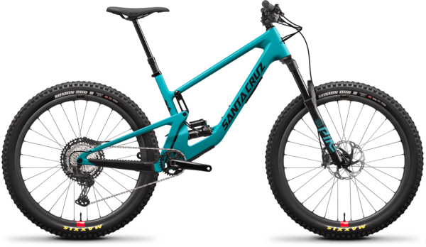 Santa Cruz 5010 C XT Reserve Color: Loosely Blue