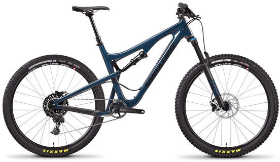 Santa Cruz 5010 R Carbon C Color: Gloss Ink and Black