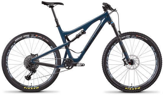 Santa Cruz 5010 S Carbon C Color: Gloss Ink and Black