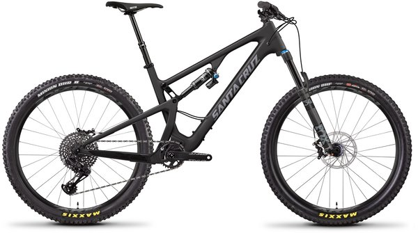 Santa Cruz 5010 Carbon C S Color: Matte Carbon