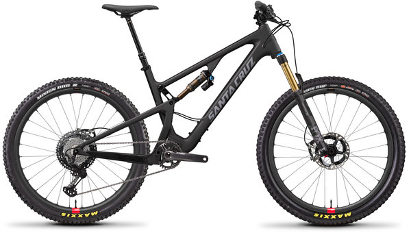Santa Cruz 5010 Carbon CC XTR Reserve Color: Matte Carbon and Silver