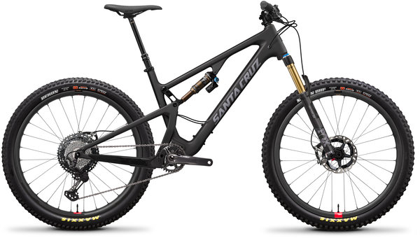 Santa Cruz 5010 Carbon CC XTR+ Reserve Color: Matte Carbon and Silver
