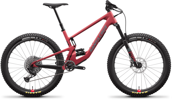 Santa Cruz 5010 CC X01 Reserve Color: Raspberry Sorbet