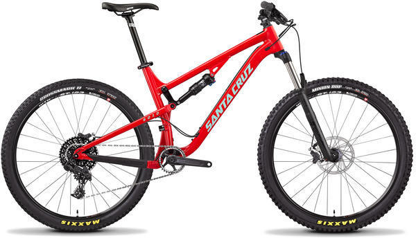 Santa Cruz 5010 D Color: Gloss Red/Mint