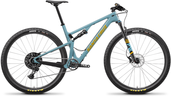 Santa Cruz Blur Carbon C R Color: Aqua