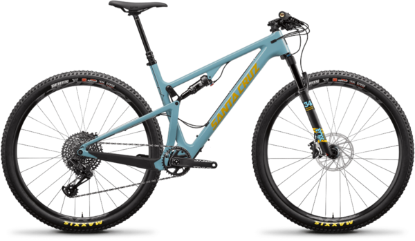 Santa Cruz Blur Carbon C S Trail Color: Aqua