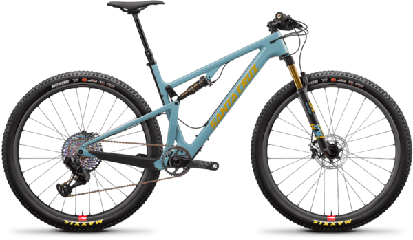 Santa Cruz Blur Carbon CC XX1 Trail Reserve Color: Aqua