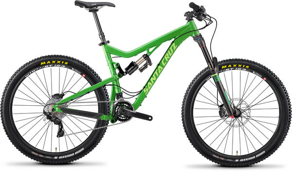 Santa Cruz Bronson Color: Dark Green/Lime
