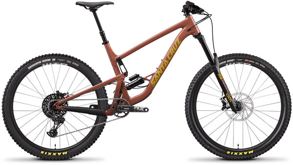 Santa Cruz Bronson Aluminum R Color: Red Tide/Yellow