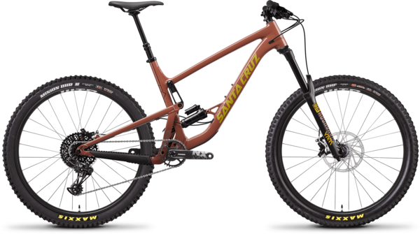 Santa Cruz Bronson AL R Color: Red Tide and Yellow