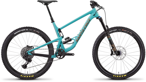 Santa Cruz Bronson Aluminum S Color: Industry Blue