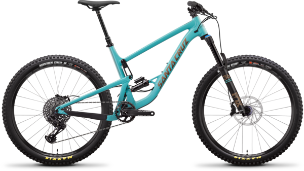 Santa Cruz Bronson Aluminum S+ Color: Industry Blue