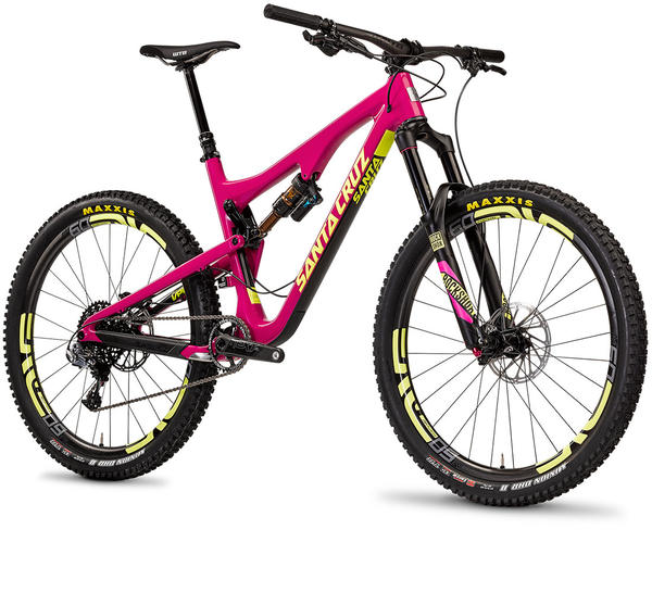 Santa Cruz Bronson C R Color: Kalimotxo/Yellow