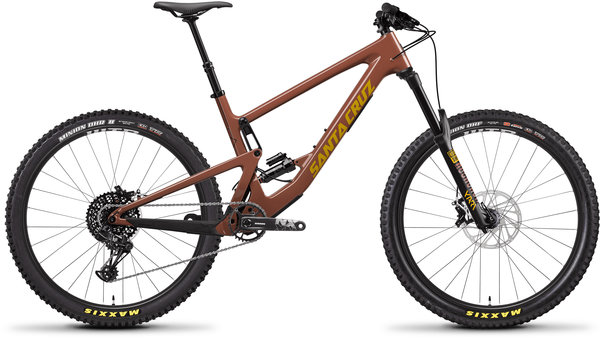 Santa Cruz Bronson Carbon C R Color: Red Tide/Yellow