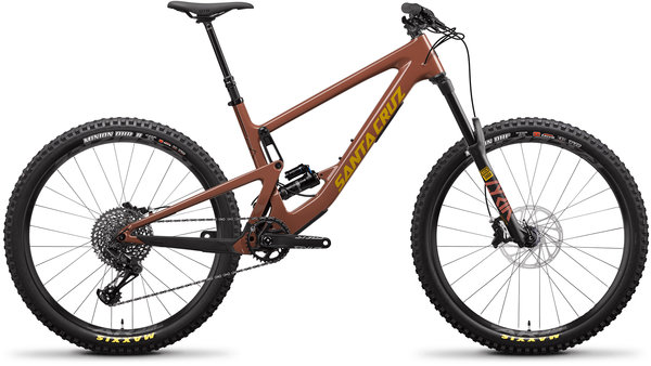 Santa Cruz Bronson Carbon C S+ Red Tide/Yellow