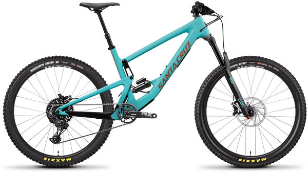 Santa Cruz Bronson Carbon C R Color: Industry Blue