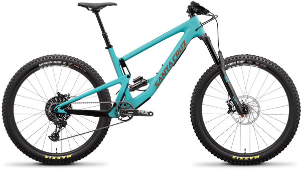 Santa Cruz Bronson Carbon C R+ Color: Industry Blue