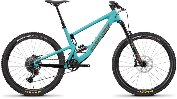 Santa Cruz Bronson Carbon C S Color: Industry Blue