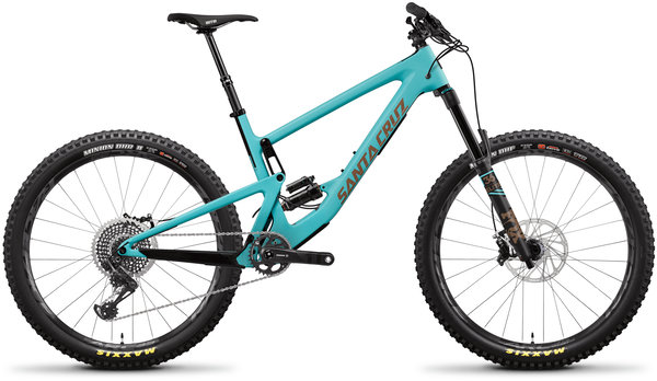 Santa Cruz Bronson Carbon CC X01+ Color: Industry Blue