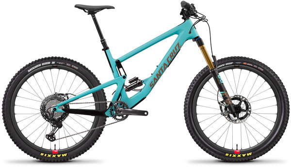 Santa Cruz Bronson Carbon CC XTR Reserve Color: Industry Blue and Gold