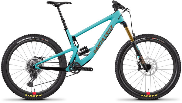 Santa Cruz Bronson Carbon CC XX1 Reserve Color: Industry Blue