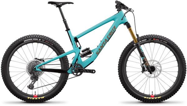 Santa Cruz Bronson Carbon CC XX1+ Reserve Color: Industry Blue