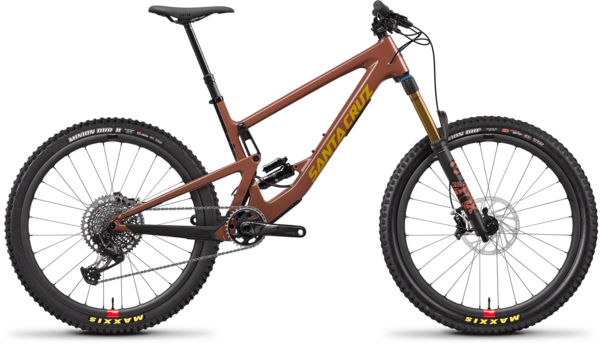 Santa Cruz Bronson CC X01 Reserve Color: Red Tide