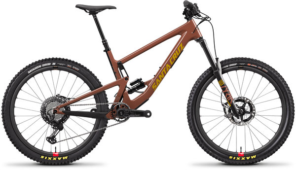 Santa Cruz Bronson Carbon CC XTR Reserve Color: Red Tide/Yellow