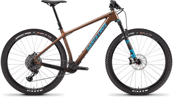 Santa Cruz Chameleon Carbon C S Color: Bronze and Blue