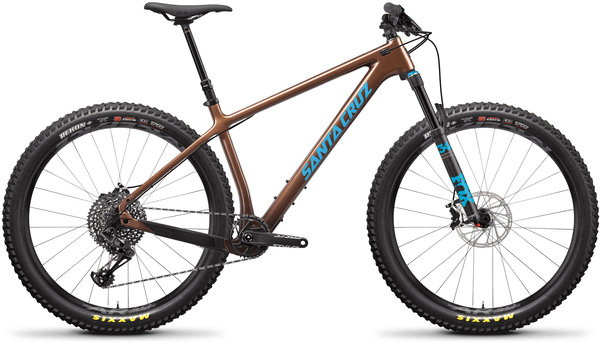 Santa Cruz Chameleon Carbon C S+ Color: Bronze and Blue