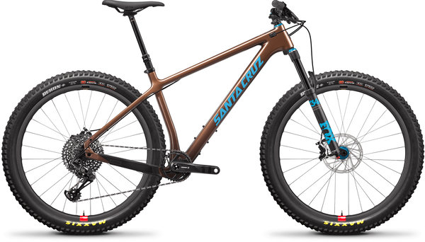 Santa Cruz Chameleon Carbon C SE+ Color: Bronze and Blue