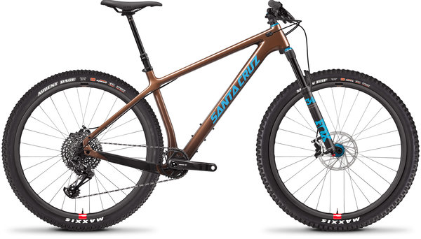 Santa Cruz Chameleon Carbon C SE Color: Bronze and Blue