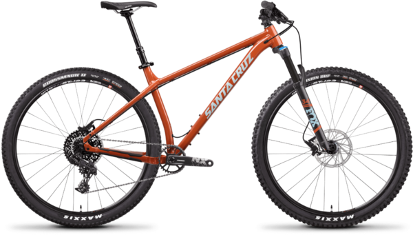 Santa Cruz Chameleon Aluminum R Color: Orange
