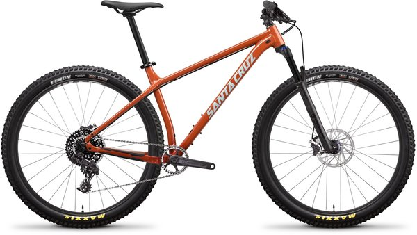 Santa Cruz Chameleon Aluminum D+ Color: Orange