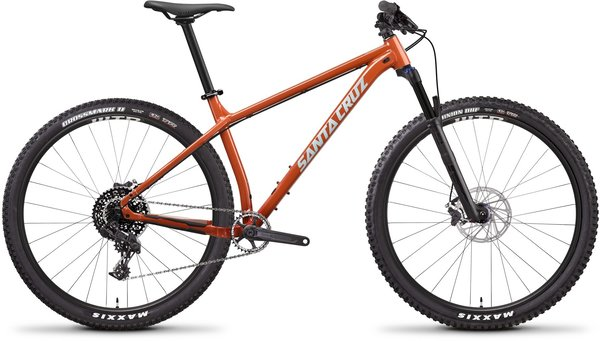 Santa Cruz Chameleon Aluminum D Color: Orange