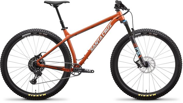 Santa Cruz Chameleon Aluminum R+ Color: Orange